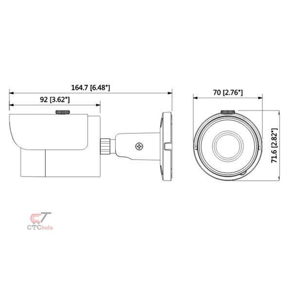 دوربین مداربسته داهوا HFW1000M